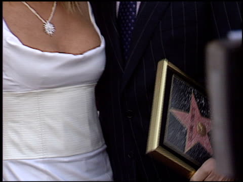 suzanne somers at the dediction of suzanne somers' walk of fame star at the hollywood walk of fame in hollywood california on january 24 2003 - suzanne somers stock videos & royalty-free footage