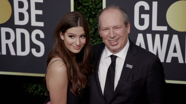 Suzanne Zimmer and Hans Zimmer at the 75th Annual Golden Globe Awards at The Beverly Hilton Hotel on January 07 2018 in Beverly Hills California