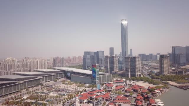 AERIAL Suzhou International Expo Center, Suzhou, Jiangsu Province, China