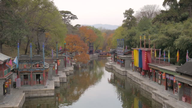 Suzhou Street at Summer Palace, Beijing, China