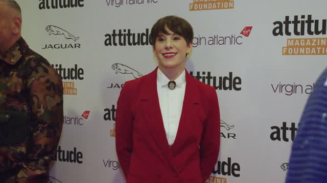suzi ruffell attends the virgin atlantic attitude awards 2021 at the roundhouse on october 06, 2021 in london, england. - attitude stock videos & royalty-free footage