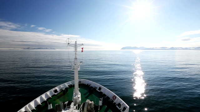 svalbard research ship - north stock videos & royalty-free footage