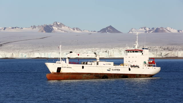 Svalbard supply ship