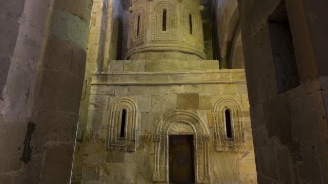 svetitsjoveli cathedral, world heritage site, unesco, mtskheta city, mtskheta-mtianeti region, georgia, middle east - eastern european culture stock videos & royalty-free footage