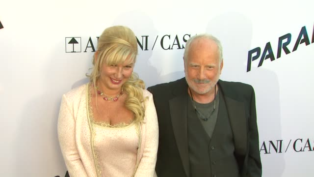 svetlana erokhin richard dreyfuss at paranoia premiere on 8/8/13 in los angeles ca - paranoia stock videos & royalty-free footage
