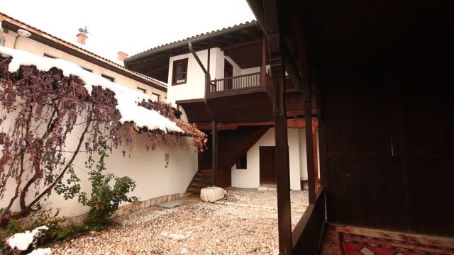 svrzo's house in sarajevo - 18th century stock videos and b-roll footage