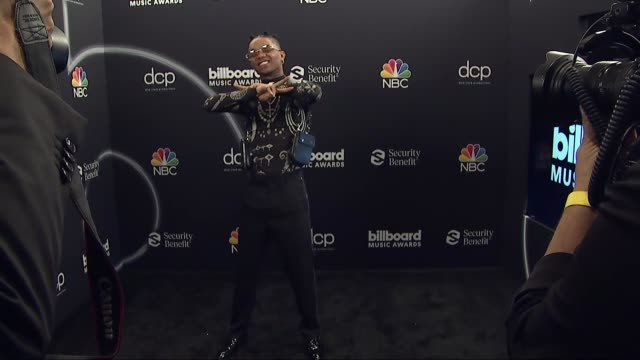 swae lee at the 2020 billboard music awards - press room at dolby theatre on october 14, 2020 in hollywood, california. - the dolby theatre stock videos & royalty-free footage
