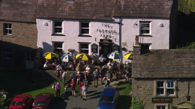 swaledale and muker village - yorkshire england stock videos & royalty-free footage