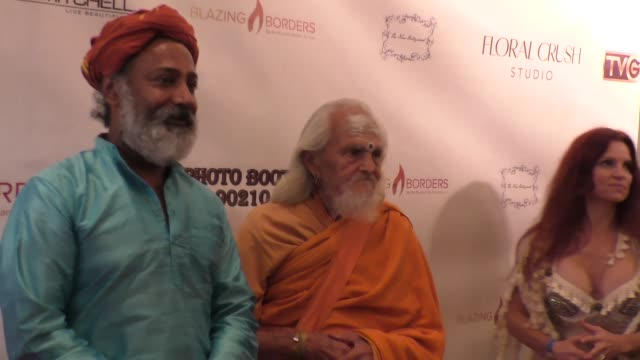 Swami Baba Nataraja and Nandhi Ji Papas at the Second Annual Legacy Gala at Casa Del Mar in Santa Monica at Celebrity Sightings in Los Angeles on...