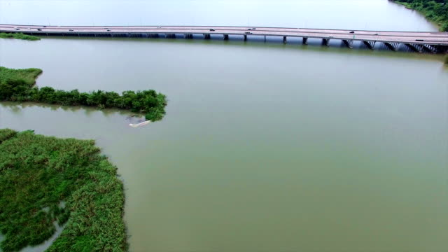 swampy delta old river and lost lake near texas louisiana border - louisiana stock videos & royalty-free footage