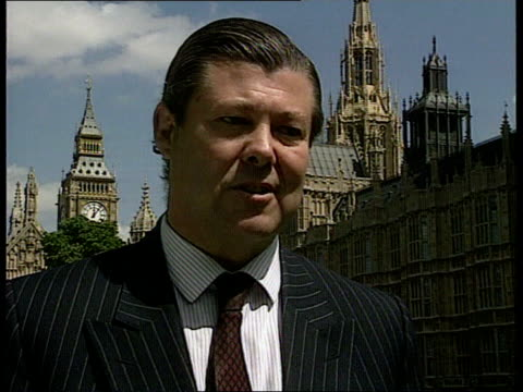swan hunter inquiry london cms sir nicholas bonsor mp intvwd sot our system of tendering could be damaging in the long term - mp stock-videos und b-roll-filmmaterial