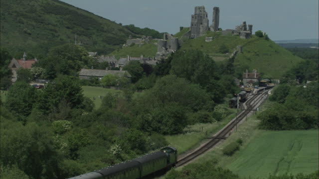 Swanage Railway At Corfe Castle