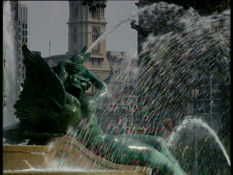 swann memorial fountain - swann memorial fountain stock videos & royalty-free footage