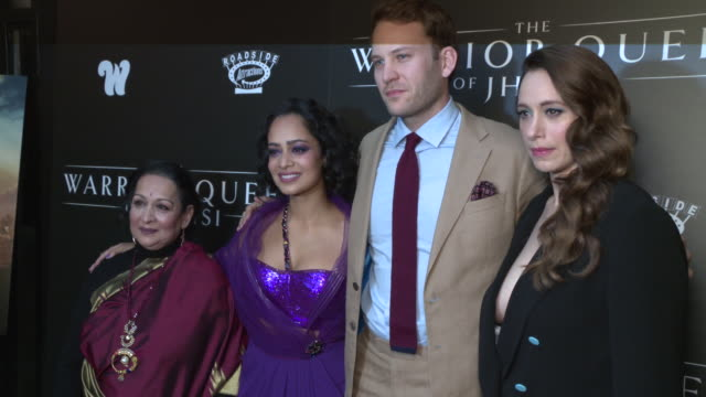 """NY: """"Warrior Queen of Jhansi"""" - Red Carpet Premiere"""