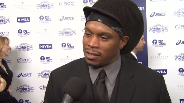 Sway on his plans for Valentine's Day and a surprise this pas New Year's Eve at the NIVEA at the Island Def Jam 2009 GRAMMY's After Party at Los...