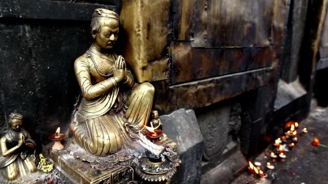 swayambhunath temple - god stock videos & royalty-free footage
