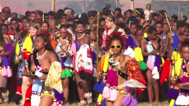 Swaziland's annual 'Reed Dance' a ceremony which is meant to be a traditional show of virginity by thousands of maidens is acquiring a seedier...