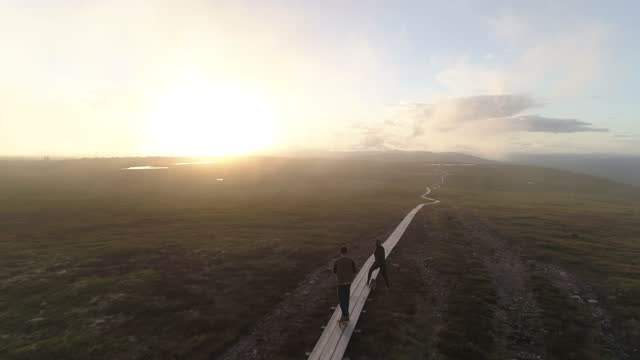 vidéos et rushes de sweden aerial nature travel skate - eastern european culture