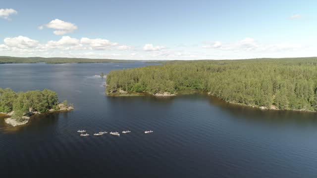 sweden aerial nature travel - landscaped stock videos & royalty-free footage