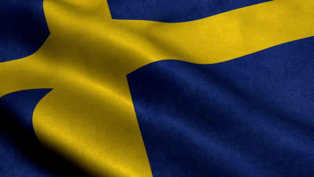 sweden flag - swedish flag stock videos and b-roll footage