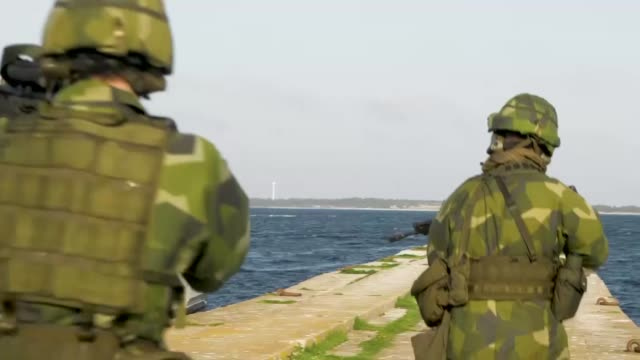 Sweden hosts Exercise Aurora its largest military exercise in nearly 25 years The exercise involved nearly 30 per cent of the Swedish Armed Forces as...