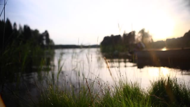 sweden, lake - heat temperature stock videos and b-roll footage