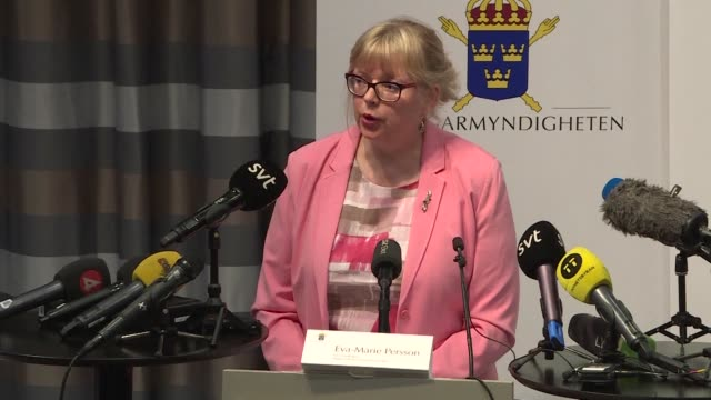 sweden's deputy director of public prosecutions eva marie persson says they are reopening a 2010 rape investigation against wikileaks founder julian... - pleading stock videos & royalty-free footage