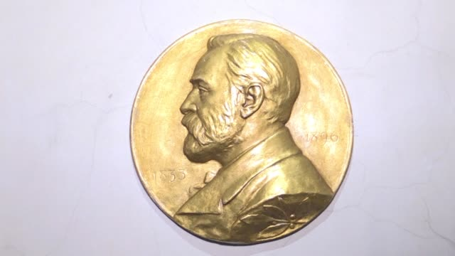 swedish inventor and scholar alfred nobel who made a vast fortune from his invention of dynamite in 1866 ordered the creation of the famous nobel... - dynamite stock videos & royalty-free footage