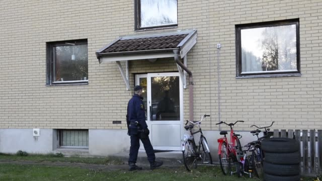 swedish police on friday said they believe a man armed with a sword who killed a teacher and child had racist motives for the attack at a school... - school child stock videos & royalty-free footage
