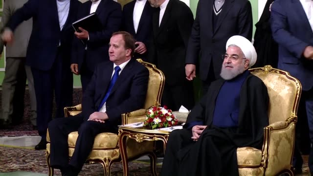 Swedish Prime Minister Stefan Lofven visited Iran on Saturday meeting with Iranian President Hassan Rouhani