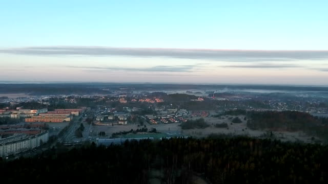 swedish rural scenics aerial video - quadcopter stock videos & royalty-free footage