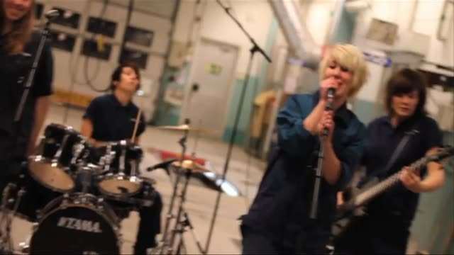 swedish school is training young high-school leavers to become rock music professionals in a two-year programme that is open to girls only and... - only girls stock videos & royalty-free footage