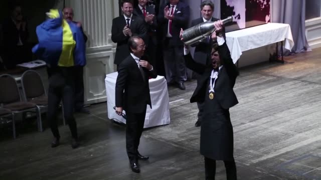 Swedish sommelier Jon Arvid Rosengren 31 becomes the world's best sommelier after beating his French and Irish competitors in Mendoza Argentina
