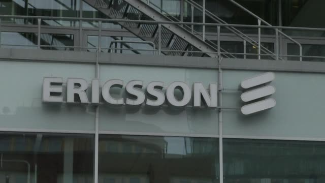 swedish telecoms giant ericsson said wednesday that it rang up huge losses last year as network competition restructuring costs and investment in... - employment issues stock videos & royalty-free footage