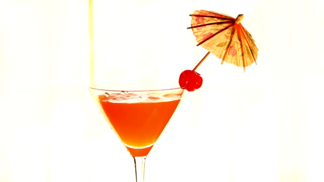sweet cocktail - tropical cocktail stock videos & royalty-free footage