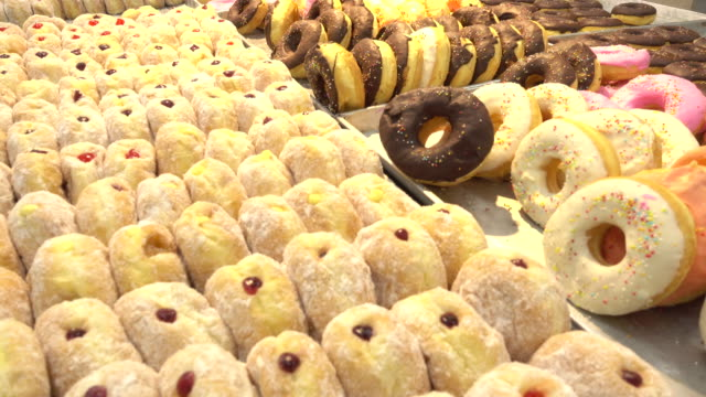 sweet donut - donut stock videos and b-roll footage