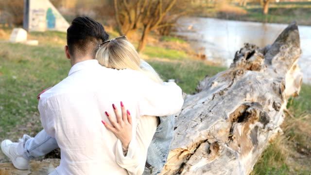 sweet love whispering - heterosexual couple stock videos & royalty-free footage