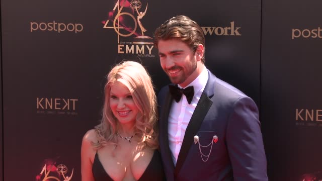 swen temmel and meadow williams at the 2019 daytime emmy awards at pasadena civic center on may 05 2019 in pasadena california - annual daytime emmy awards stock videos & royalty-free footage