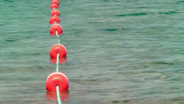 swim area boundary - standing water stock videos & royalty-free footage