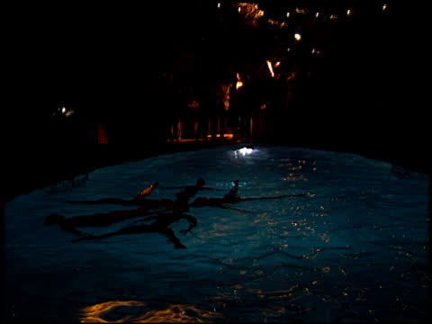 swim pool at the Tell No One 1800 Tequilla Talent Party at Chateau Marmont in West Hollywood California on May 2 2002