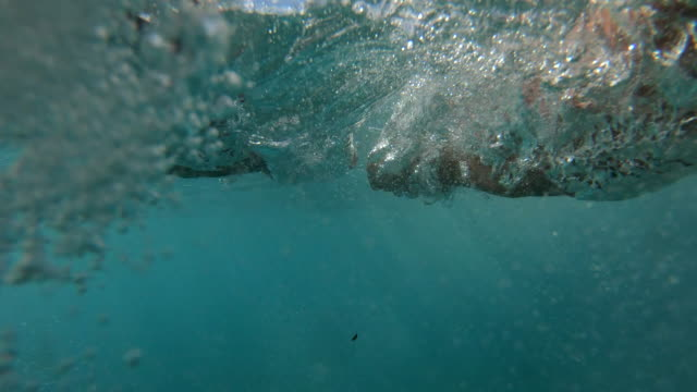 pov of swimmer's hands performing breast stroke - hobbies stock videos & royalty-free footage