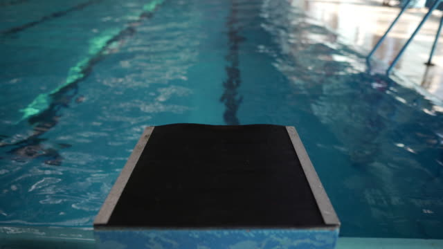 swimming as a way of life - diving platform stock videos & royalty-free footage