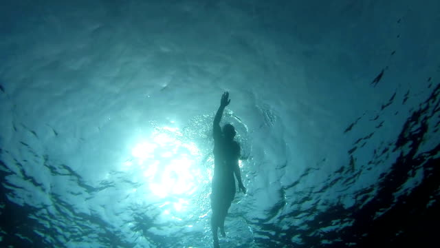 swimming crawl - underwater stock videos & royalty-free footage