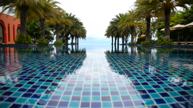 Swimming pool at hotel resort