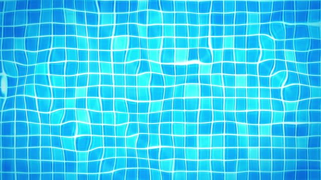 swimmingpool hintergrund loop-unter wasser fliesen (hd - kachel stock-videos und b-roll-filmmaterial