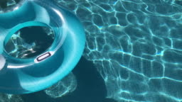 Swimming Pool Floats on swimming pool