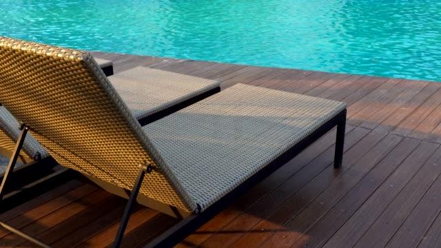 swimming pool - villa stock videos & royalty-free footage