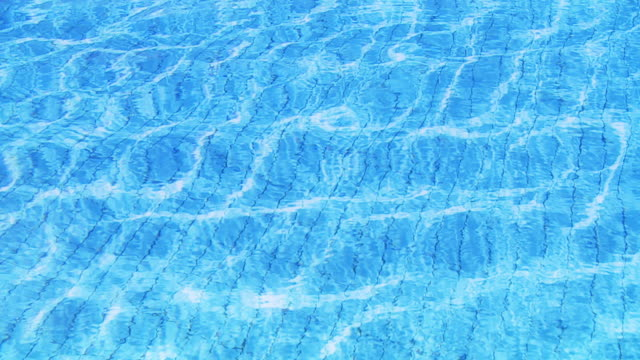 hd slow motion: swimming pool - standing water stock videos & royalty-free footage