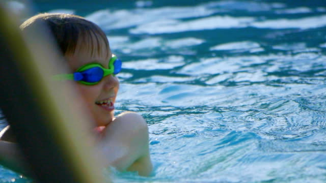 swimming pool - swimming shorts stock videos & royalty-free footage