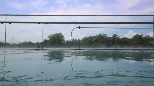 schwimmbad-video - pool mit gegenströmung stock-videos und b-roll-filmmaterial